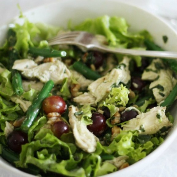 saláta étel