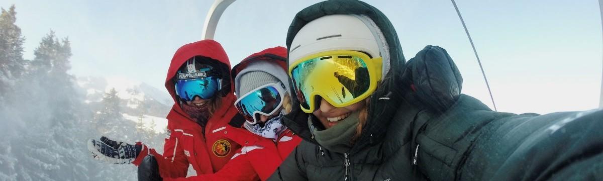 síelés tél sport