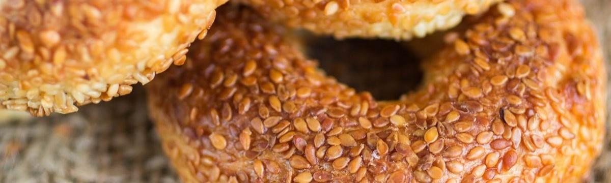 Simit koulouri kerek perec péksütemény