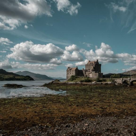 Skócia Eilean Donan