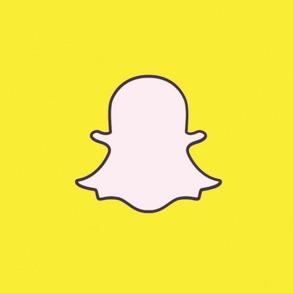 snapchat logó szellem