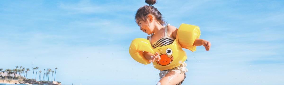 strand gyerek