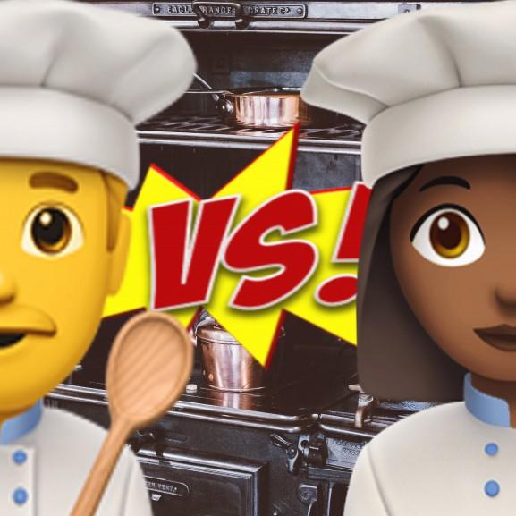 szakács nő férfi