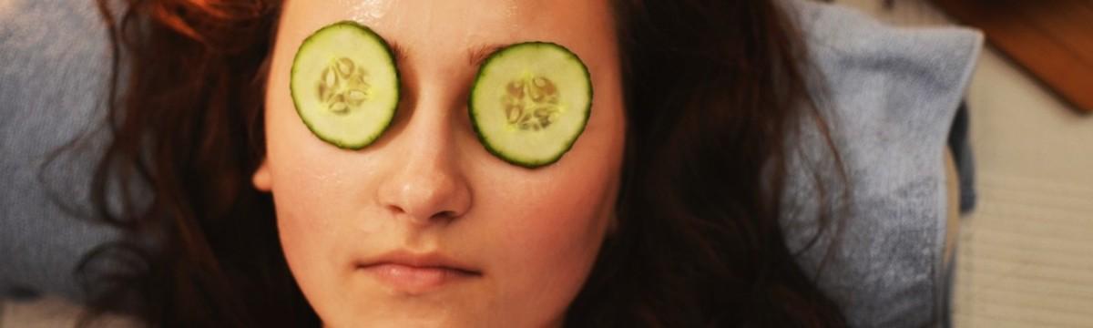 szépségápolás arcmaszk uborka