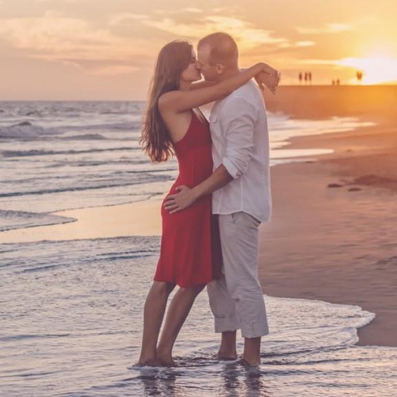 szerelem párkapcsolat tengerpart