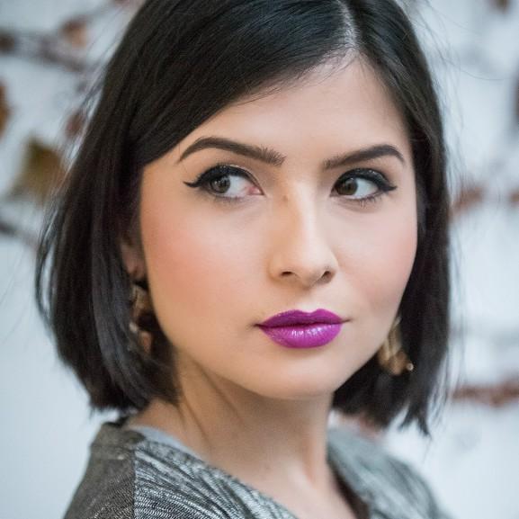 szilveszteri smink Molnár Viola Anna