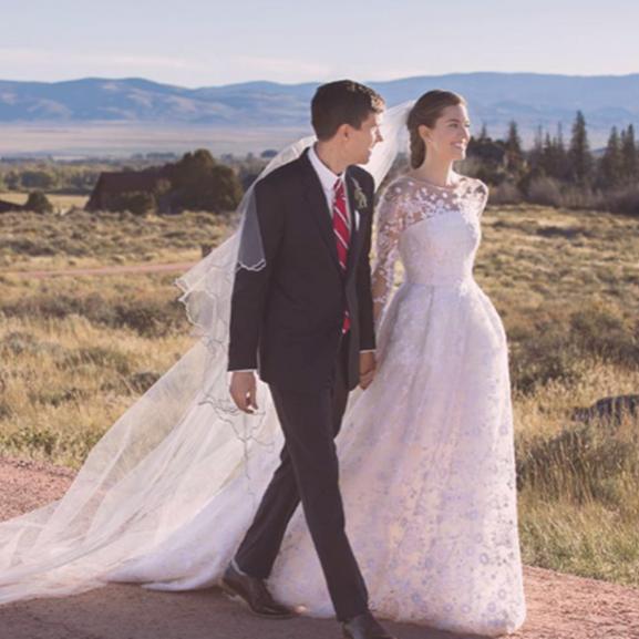 sztárok esküvő Allison Williams