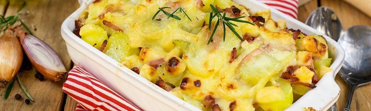Tartiflette nagyon sajtos francia sült krumpli