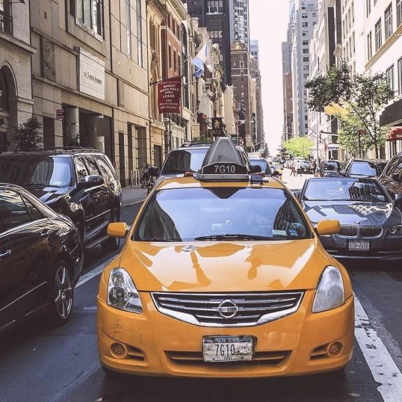 taxi autó