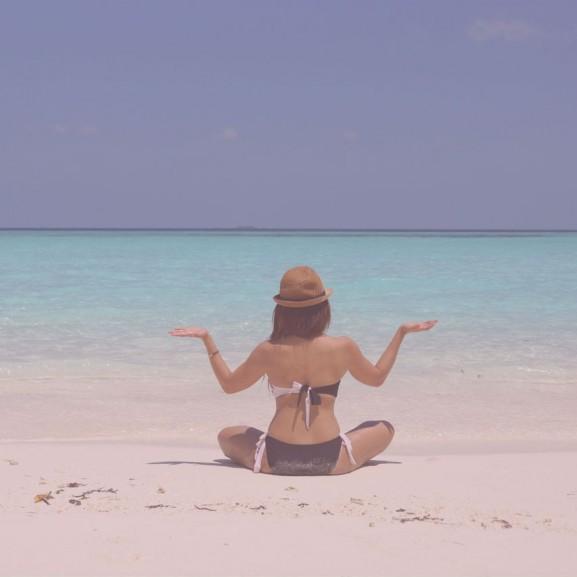 tengerpart napozás