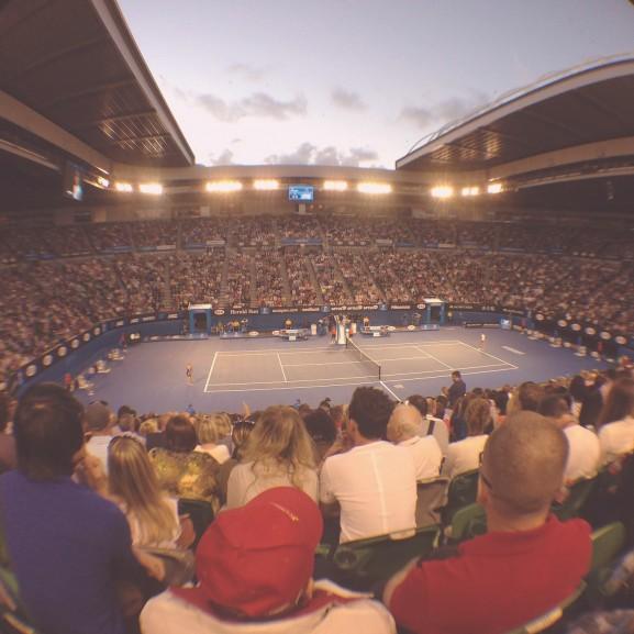 tenisz Rod Laver Arena
