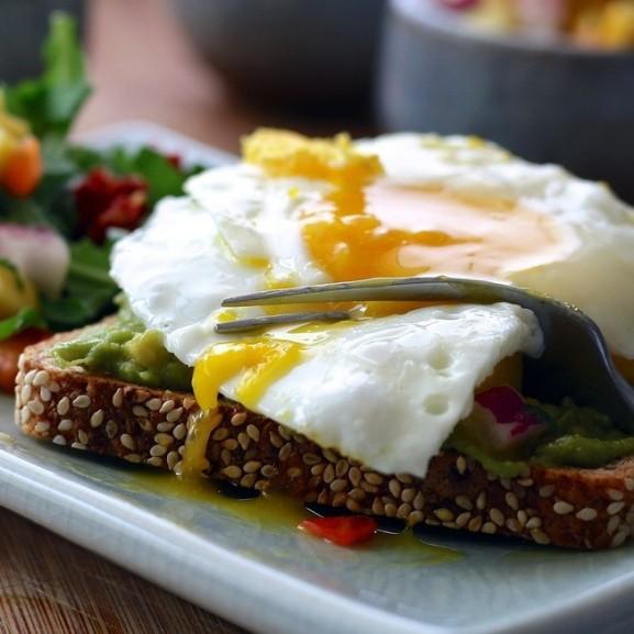tojás szendvics