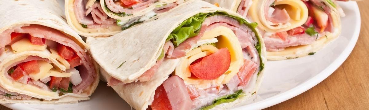 Tortilla wrap szendvics