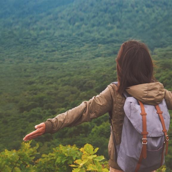Te tudnál napokig egyedül lenni egy erdőben?