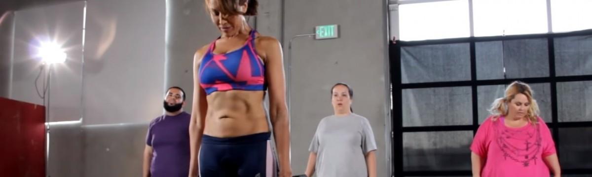 túlsúlyos edzés videó