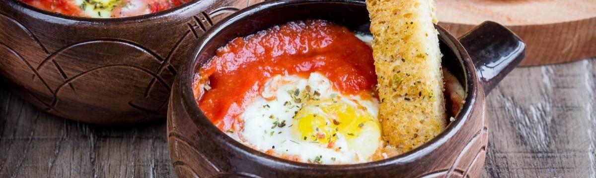 Tunkolós tojás - shakshuka egyszerűsítve