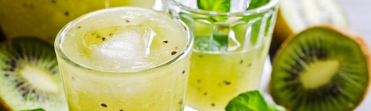 Turmixolt limonádé kivivel