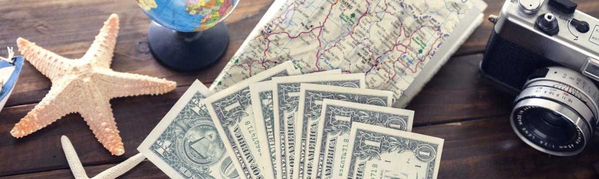 utazás készpénz kártya