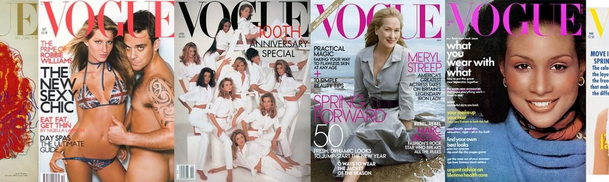 Vogue címlapok