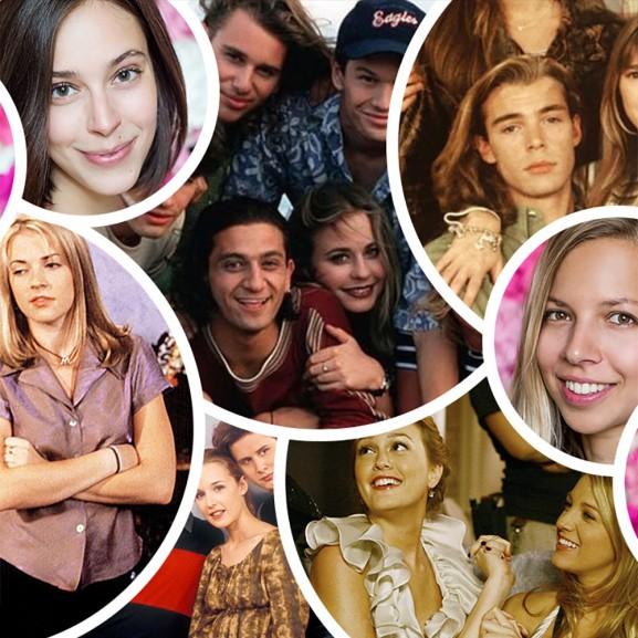 Vous-lányok kedvenc tinisorozat 90-es évek