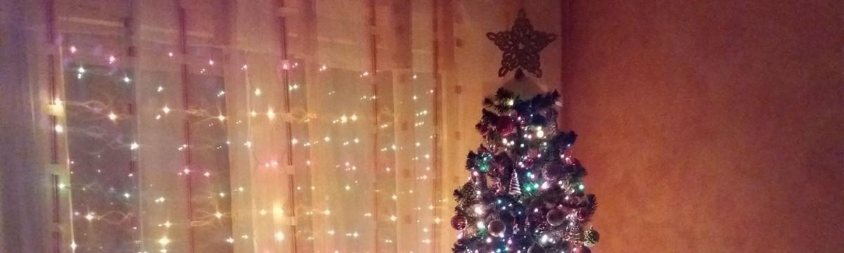 vous olvasó karácsonyfa