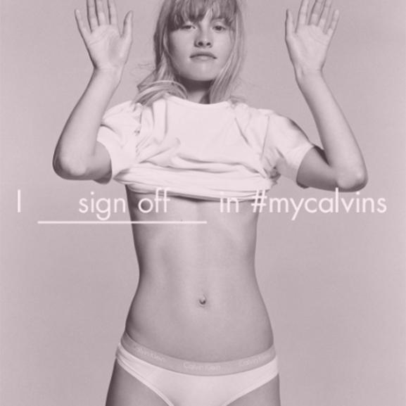 Túlzottan erotikus kampánnyal jött ki a Calvin Klein