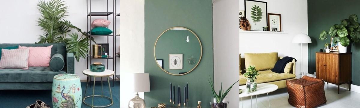 zöld szín lakberendezés