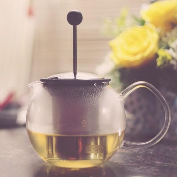 zöld tea kancsó