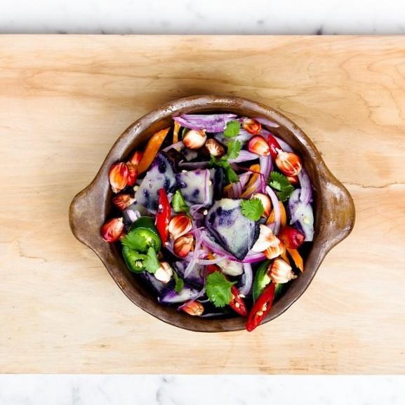 zöldség saláta egészséges vacsora