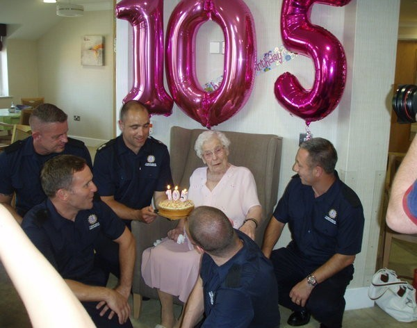 105 éves néni