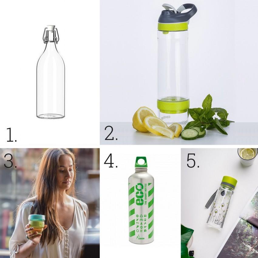 1. IKEA, 2. Contigo, 3. KeepCup, 4. Laken Futura, 5. myequa