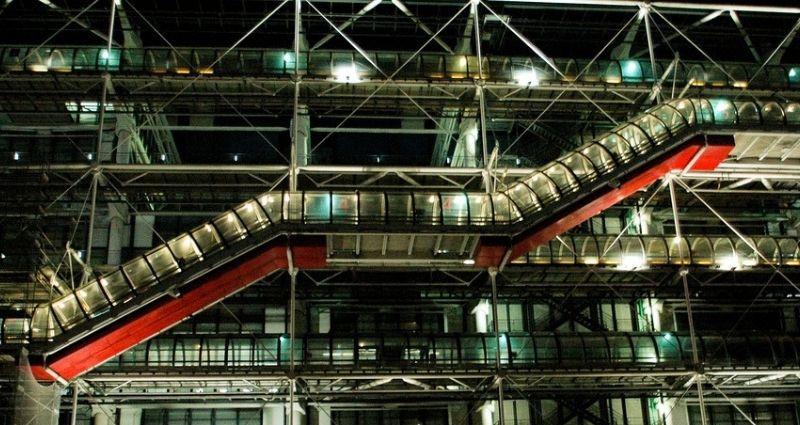 A Centre Georges Pompidou