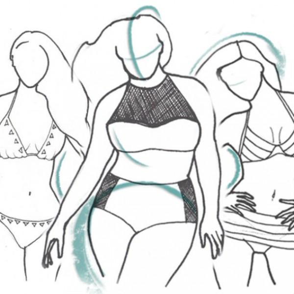bikini fürdőruha testalkat Cséfalvay Fanny