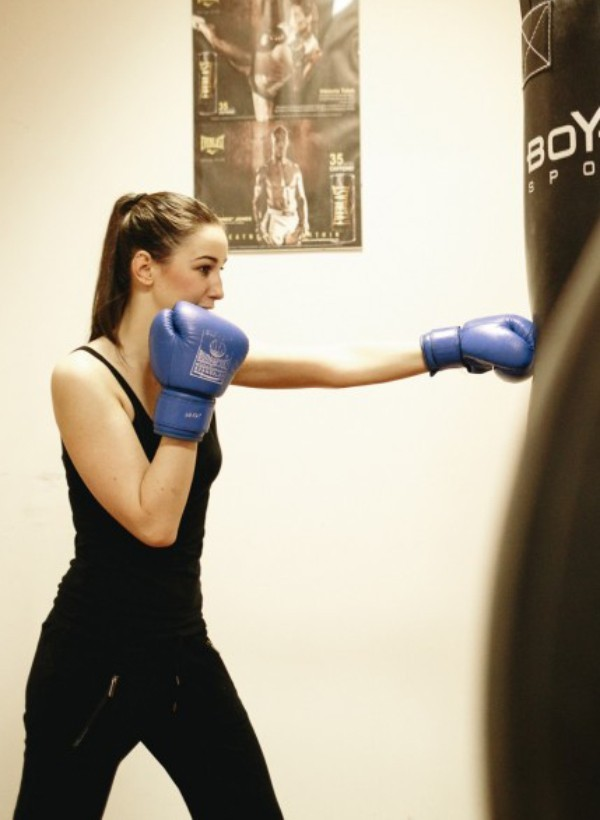 box boksz edzés Engel Nóra