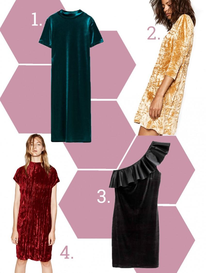 1. Zara, 2. Zara, 3. H&M 4. Zara