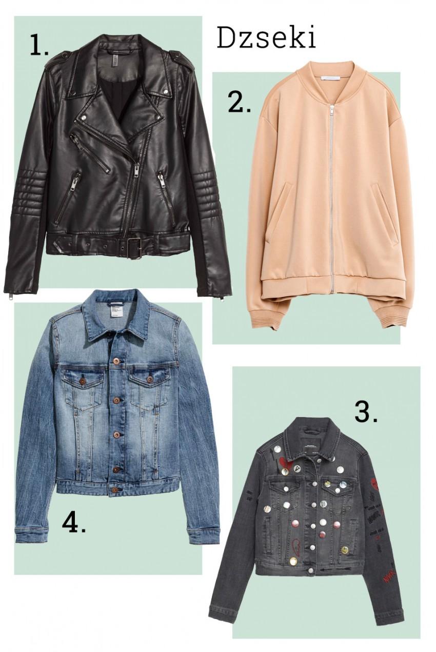 1, H&M, 2. Zara, 3. Zara, 4. H&M