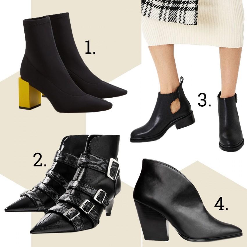 1. Mango, 2. Zara, 3. Zara, 4. H&M