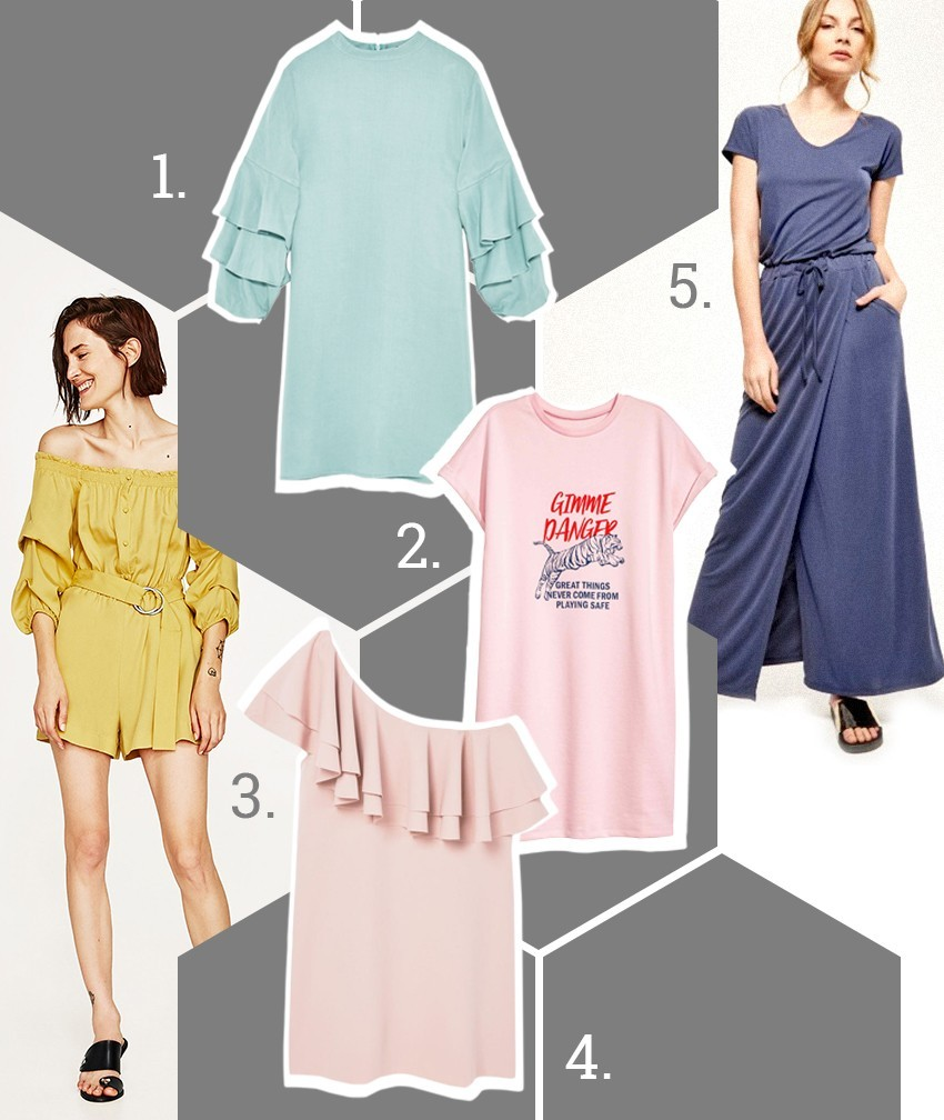 1. Zara 2. H&M 3. Zara 4. Mango 5. Reserved