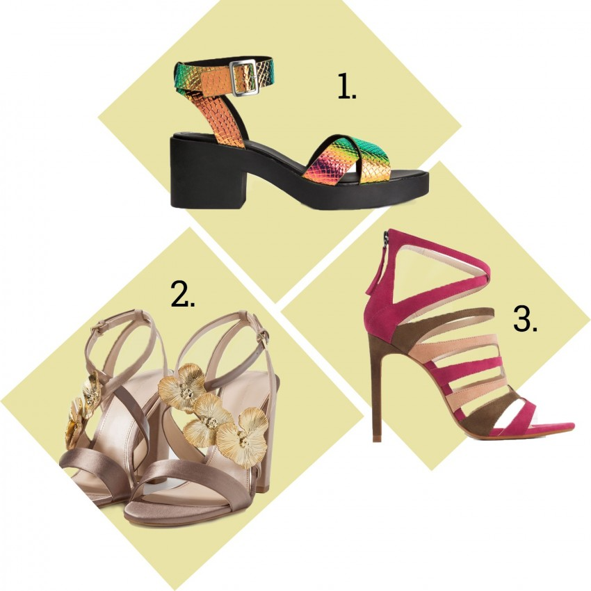 1. H&M 2. Zara 3. Zara