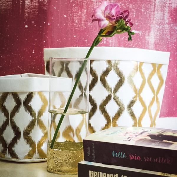Hétköznapi luxus – avagy készítsetek Kardashian család ihlette vázát 5 perc alatt!
