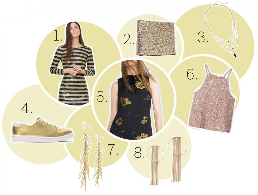 1. Mango, 2. Zara, 3. H&M, 4. Zara, 5. Zara, 6. Mango, 7. H&M, 8. H&M