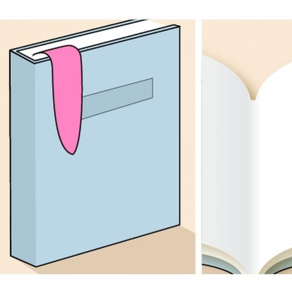 Kétféle ember létezik olvasás Petrovits Olga grafika.