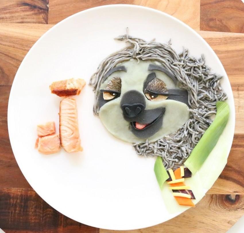 Ki tudna ellenállni ennek a szuper cuki ételnek, ami egyébként tészta és lazac?