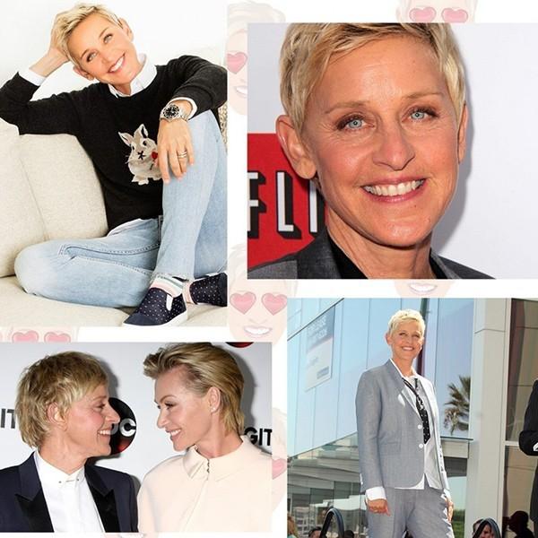 """""""Kinyitja a száját, és a közönség máris nevet"""" – Ellen DeGeneres ma 59 éves"""
