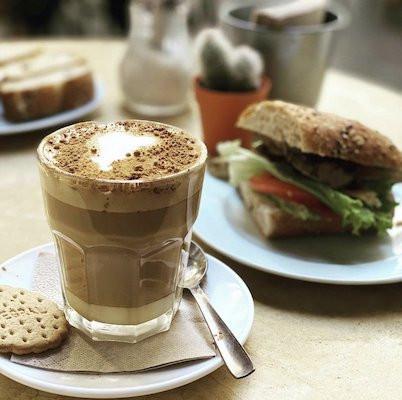 Melange kávé
