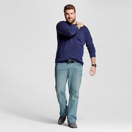 9b4ff534f1c6 Ismerjétek meg az első férfi plus-size modellt! – fotókkal
