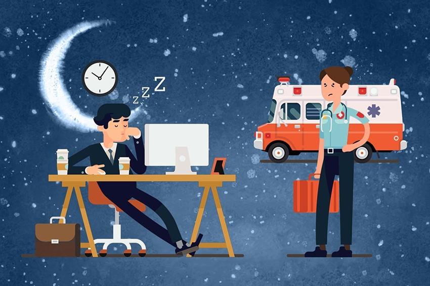 Mojzes Nóra 24 óra műszak munka éjszaka mentős ápoló televíziós szerkesztő