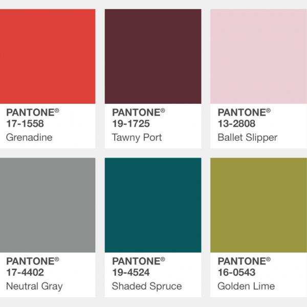 pantone ősz szín