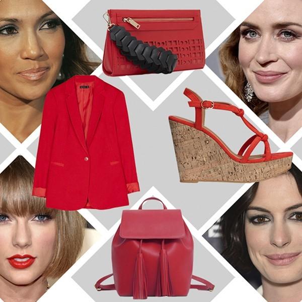 piros divat