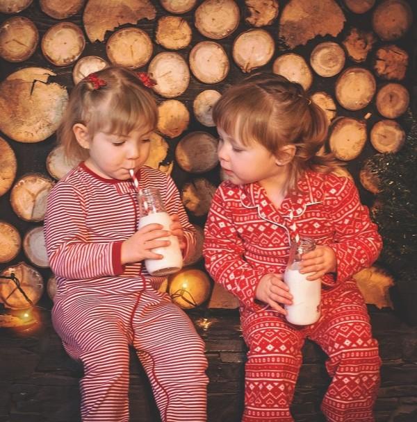 pizsama gyerekek karácsony